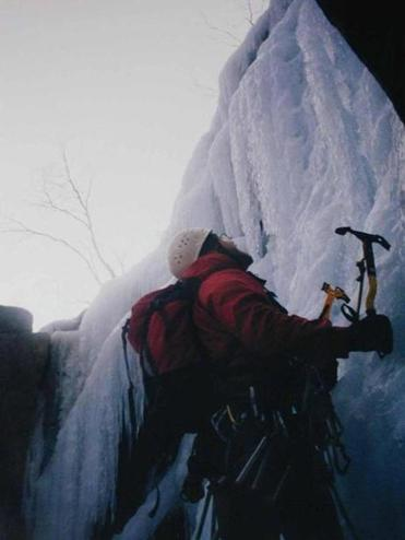 Adventurous climbers can test themselves on rocks and ice on the Bretton Woods property of the Omni Mount Washington Resort.